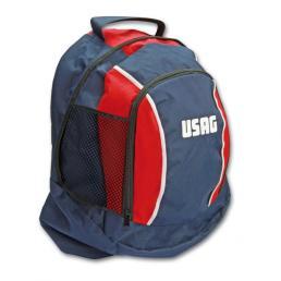 USAG Red/blue multipocket backpack - 1