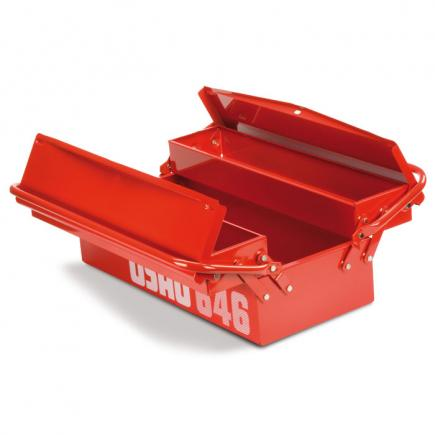 USAG Long cantilever tool boxes, three compartments (empty) - 1