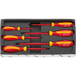 STAHLWILLE VDE screwdriver set DRALL+ - 1