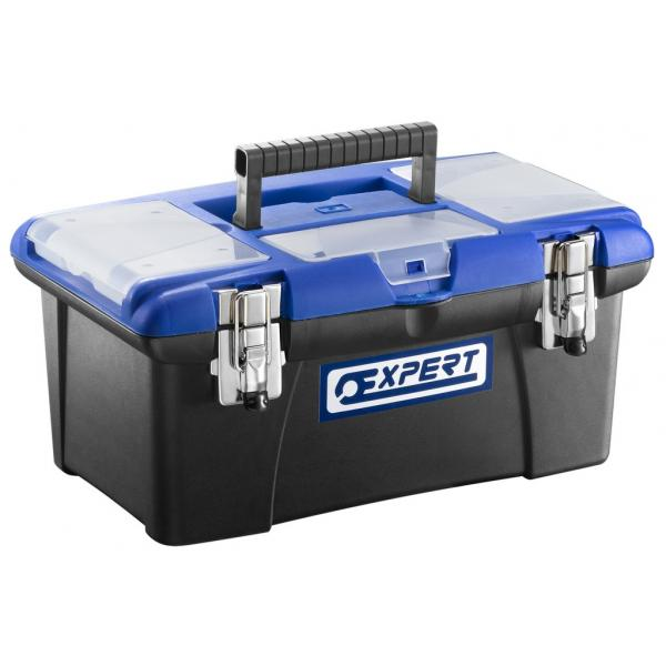 EXPERT E010304 - Plastic toolbox 410mm and 490 mm - 1