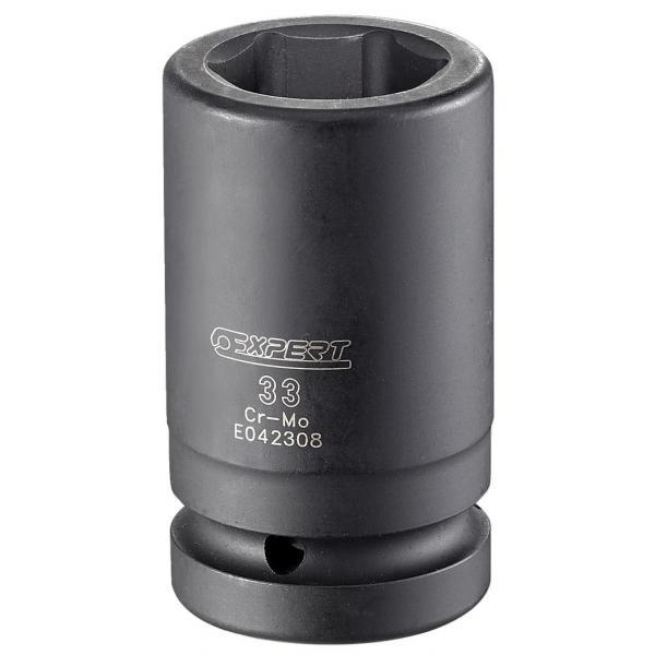 """EXPERT E042304 - 1"""" long reach impact sockets. - 1"""