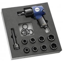 "EXPERT 11 piece 3/4"" impact short reach sockets foam module - 1"