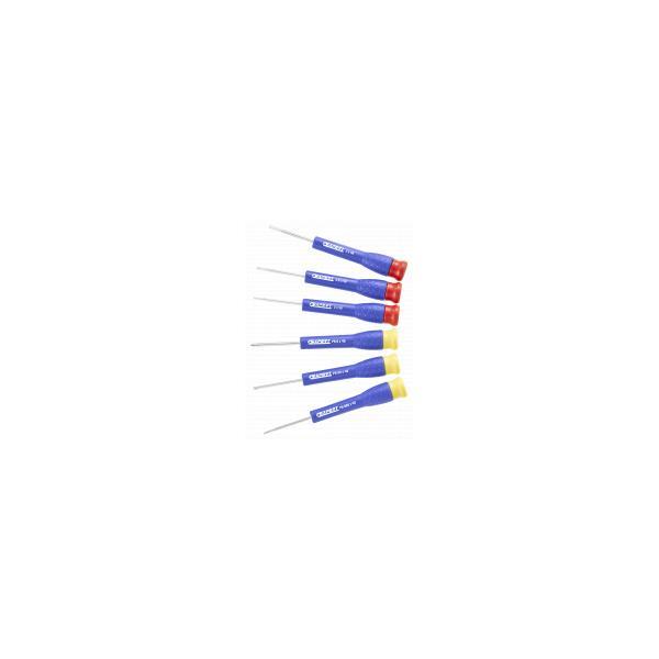 EXPERT E161102 - Set of 6 precision screwdrivers - 1