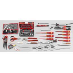 FACOM 94 piece metric electronic tool set - 1