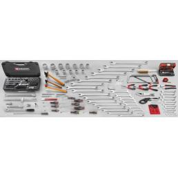 FACOM 174 piece metric agricultural maintenance tool set - 1
