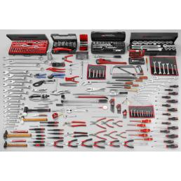 FACOM 343 piece mechanical tool set - 1
