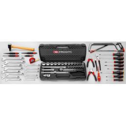 FACOM Set CM.100A with 66 cm plastic toolbox BP.P26 (60 pcs) - 1