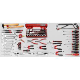 FACOM 84 piece inch mechanical tool set - 1