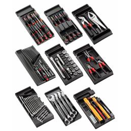 FACOM 114 piece heavy goods vehicle tool set with storage trays - 1