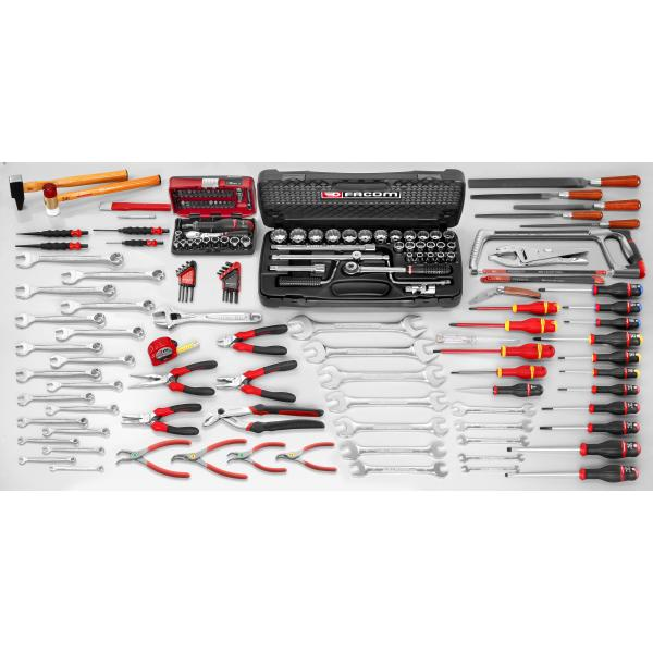 FACOM 155 piece inch mechanical tool set - 1