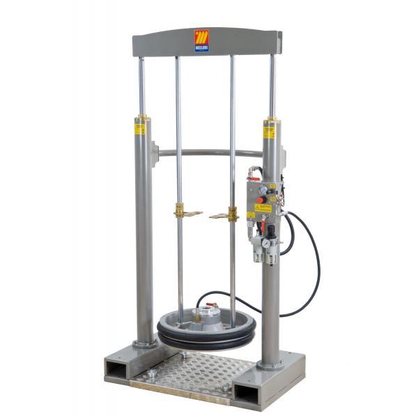 MECLUBE 012-1200-030 - Frame lifter press for barrels 180 220 kg shank Ø 30 mm - 1