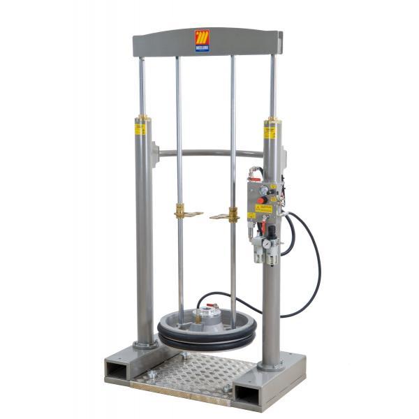 MECLUBE 012-1200-050 - Frame lifter press for barrels 180 220 kg shank Ø 50 mm - 1