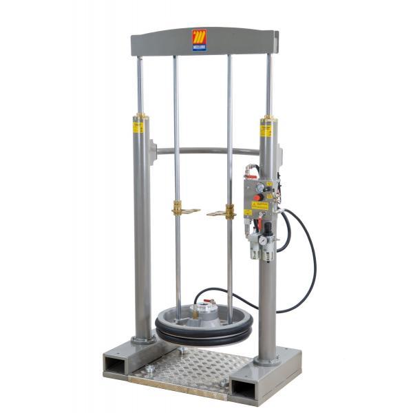 """MECLUBE 012-1200-200 - Frame lifter press for barrels 180 220 kg shank F 2"""" G - 1"""