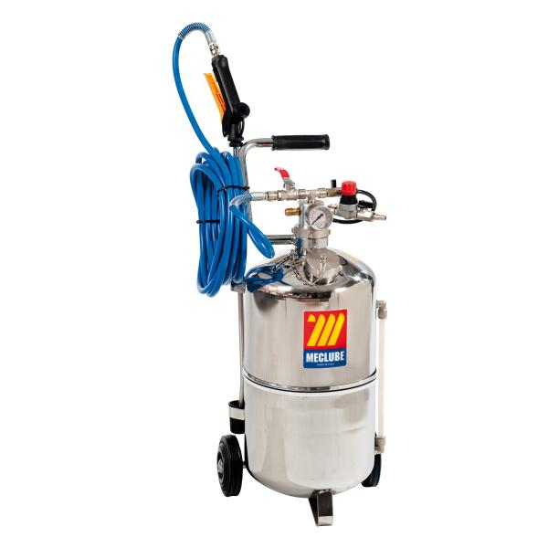 MECLUBE 051-1512-000 - Stainless steel pressure sprayer AISI 304 24 l With foaming device - 1