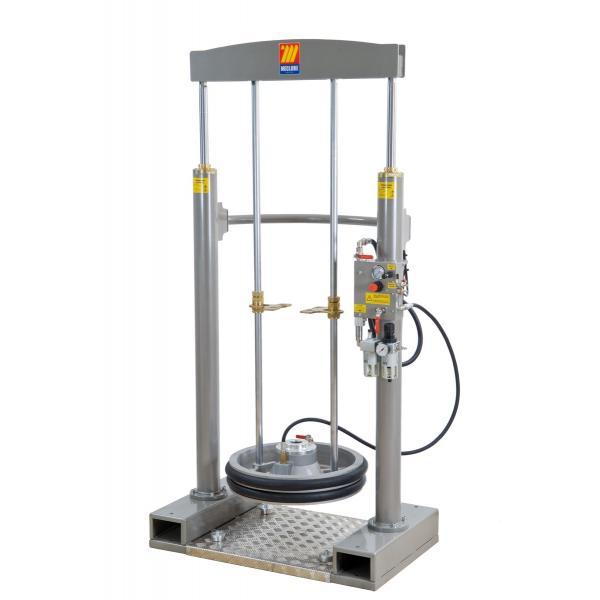 MECLUBE 012-1200-042 - Frame lifter press for barrels 180 220 kg - 1