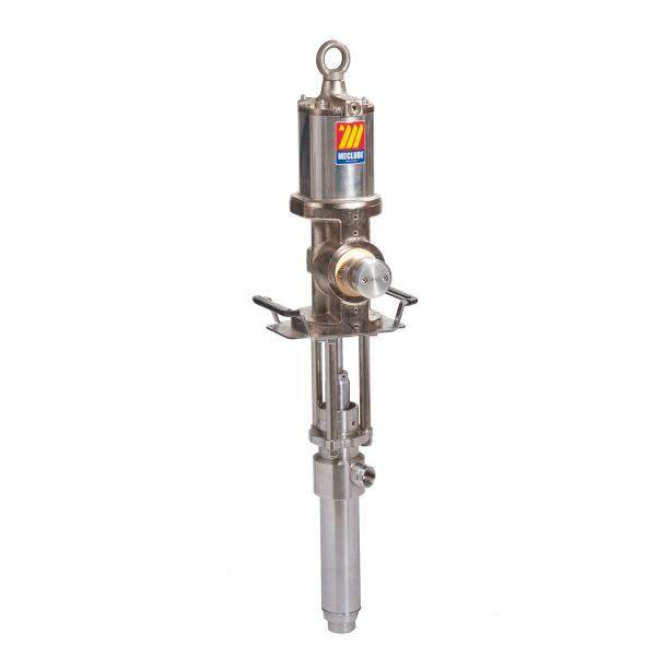 MECLUBE 021-0906-XDT - Double acting air operated industrial break pump stainless steel AISI 304 ratio 6:1 Delivery capacity 45