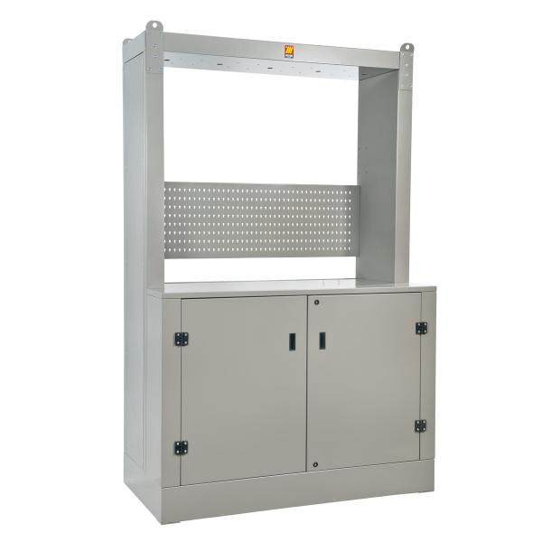 MECLUBE 023-1966-000 - Frame cabinet for oil distribution Dimensions 1600X700 H 2500 mm - 1