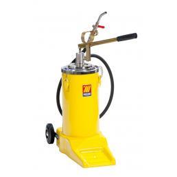 MECLUBE 16 l wheeled manual oil dispenser - 1