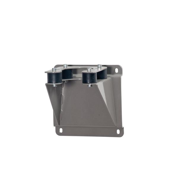 MECLUBE 025-1265-010 - Painted steel wall fixed bracket With rubber anti vibration spacer - 1
