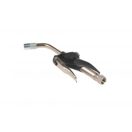 MECLUBE Oil dispensing nozzle Rigid end 30° Automatic drop valve Ø 14 mm - 1