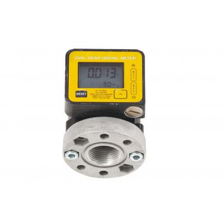 MECLUBE Oil digital flow meter high delivery Delivery max 60 l/min - 1