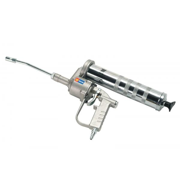 MECLUBE 014-1042-000 - Pneumatic nozzle for grease ratio 50:1 500 g with rigid pipe and jaws coupling - 1