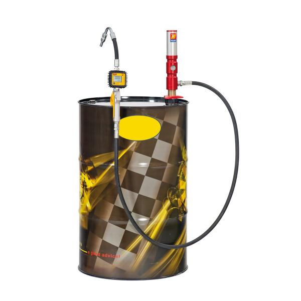 MECLUBE Oil set suitable for barrels of 180 220 l Delivery capacity 25 l/min - 1