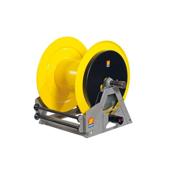 """MECLUBE 076-6304-600 - Industrial hose reels motorized hydraulic FOR WATER 150°C 200bar Mod. MI 640 Inlet Outlet F1""""G  M1""""G - 1"""