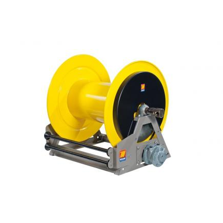 MECLUBE Industrial hose reels motorized pneumatic FOR WATER 150° C 200 bar Mod. MP 650 - 1