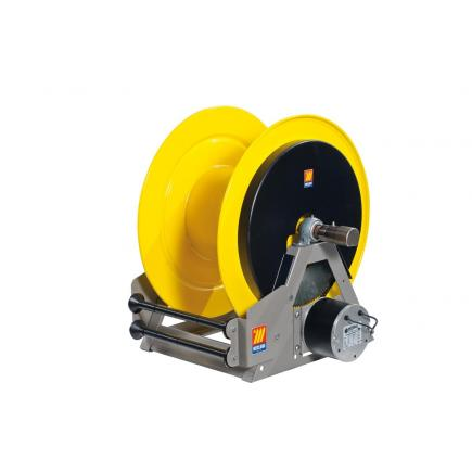 MECLUBE Industrial hose reels motorized electrical 24V FOR WATER 150° C 200 bar Mod. ME 630 - 1