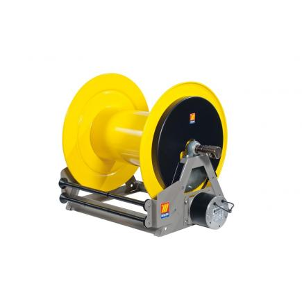 MECLUBE Industrial hose reels motorized electrical 24V FOR WATER 150° C 200 bar Mod. ME 650 - 1