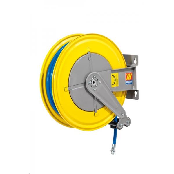 MECLUBE 070-1401-420 - Hose reel fixed FOR AIR WATER 20 bar Mod. F 550 WITH HOSE 20m - 1