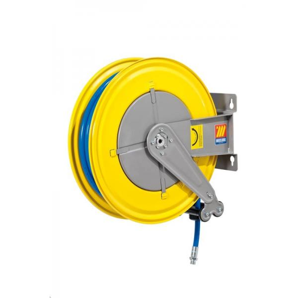 MECLUBE 070-1401-425 - Hose reel fixed FOR AIR WATER 20 bar Mod. F 550 WITH HOSE 25m - 1