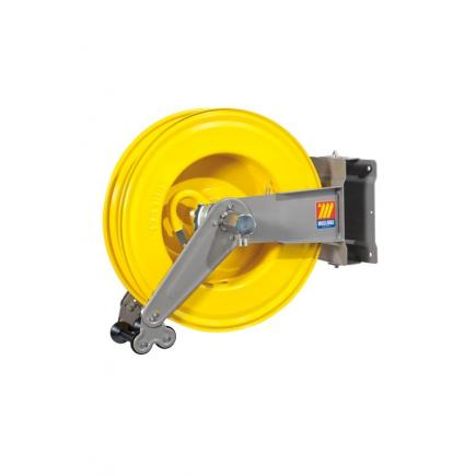 MECLUBE Hose reel swivelling FOR AIR WATER 20 bar Mod. S 550 WITHOUT HOSE - 1