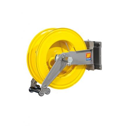 "MECLUBE Hose reel swivelling FOR AIR WATER 20 bar Mod. S 555 WITHOUT HOSE Inlet Outlet M1/2""G M1/2""G - 1"