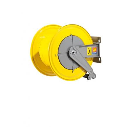 MECLUBE Hose reel fixed FOR WATER 150° C 200/400 bar Mod. F 560 WITHOUT HOSE - 1