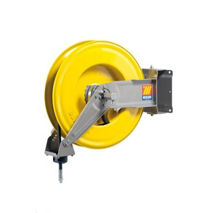 """MECLUBE Hose reel swivelling FOR AIR WATER 20 bar Mod. S 460 WITH HOSE 20 m  ø 3/8"""" - 1"""