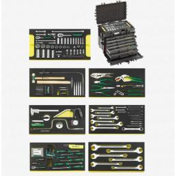 STAHLWILLE Electronics set in tool case N. 13209 - 1