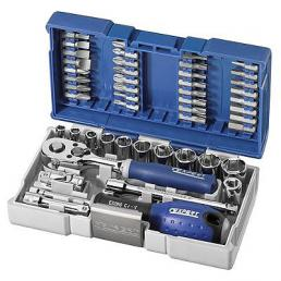 """EXPERT Assortment of sockets and accessories 1/4"""" - 1"""