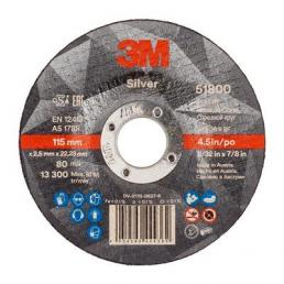 3M Silver Cut Off Wheel, T41 and T42 - 1