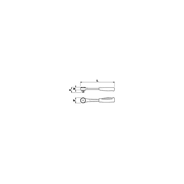 USAG REVERSIBLE RATCHET WITH SEALED MECHANISM (CERTIFIED IP51) - 1