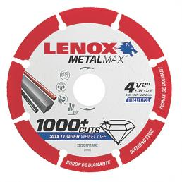 LENOX METALMAX™ cut off diamond disc, 115mm, for angle grinder - 1