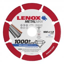 LENOX METALMAX™ cut off diamond disc, 105mm, for angle grinder - 1