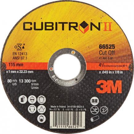 3M Cubitron™ II Cut Off Wheel T41 - 2