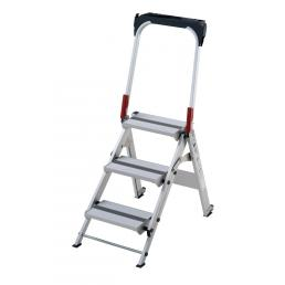 GIERRE Professional aluminium folding step, 3 steps - 1
