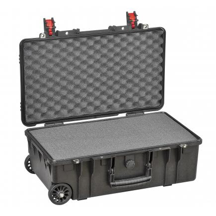 EXPLORER CASES Case with a high impact resistance, black with protective foam - 1