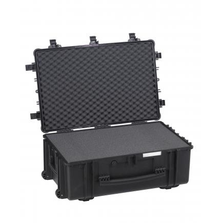 EXPLORER CASES Large sized case, certified IP67, black with pre-cubed foam - 1