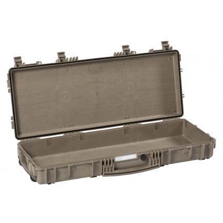 EXPLORER CASES Small rifle / tripod case with accessories desert sand color, empty - 1