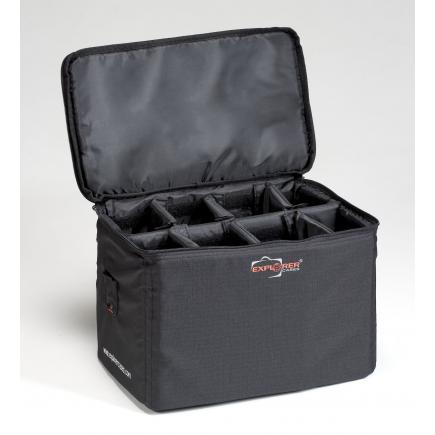 EXPLORER CASES Padded bag with adjustable dividers - 1