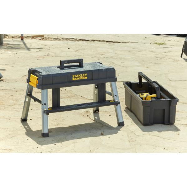 "STANLEY 25"" work step tool box - 1"